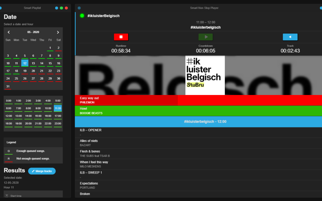 VRT uses SmartRadio for online radio channels
